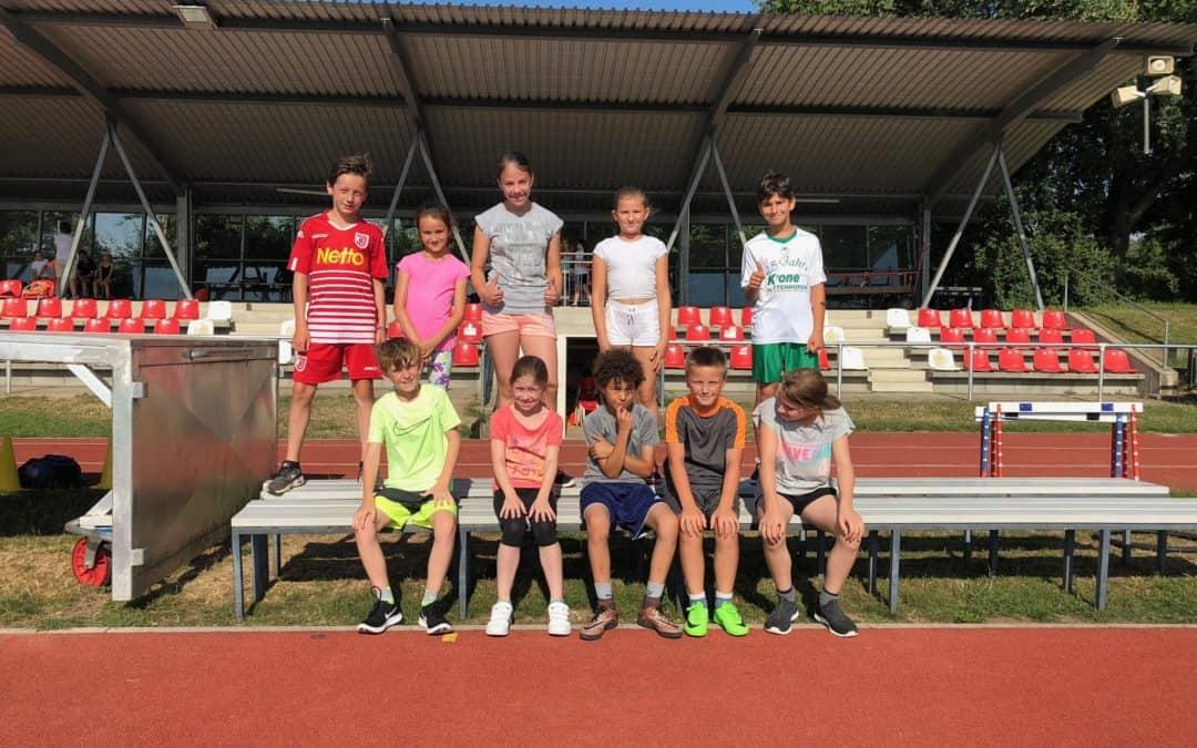 Leichtathletik-Mannschaftswettbewerb – Tolle Leistung!!