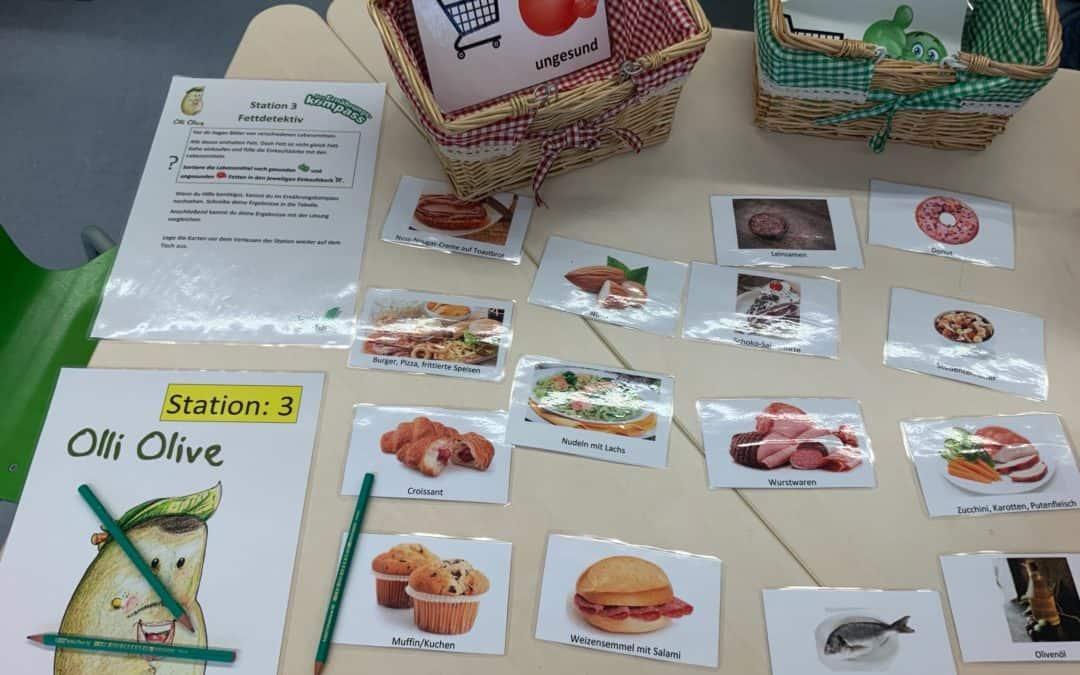 Ernährungsworkshop der Klasse 2b