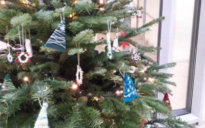 Impressionen aus dem weihnachtlichen Schulhaus